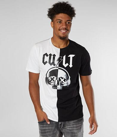Cult of Individuality Pieced Skull T-Shirt