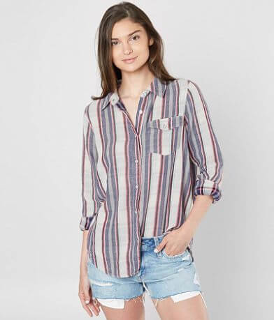 BKE Tonal Plaid Shirt