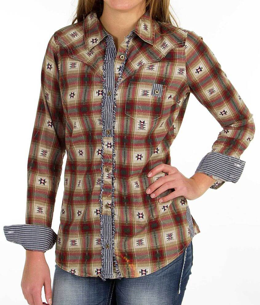 BKE Southwest Shirt front view