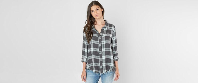 BKE Flannel Shirt front view