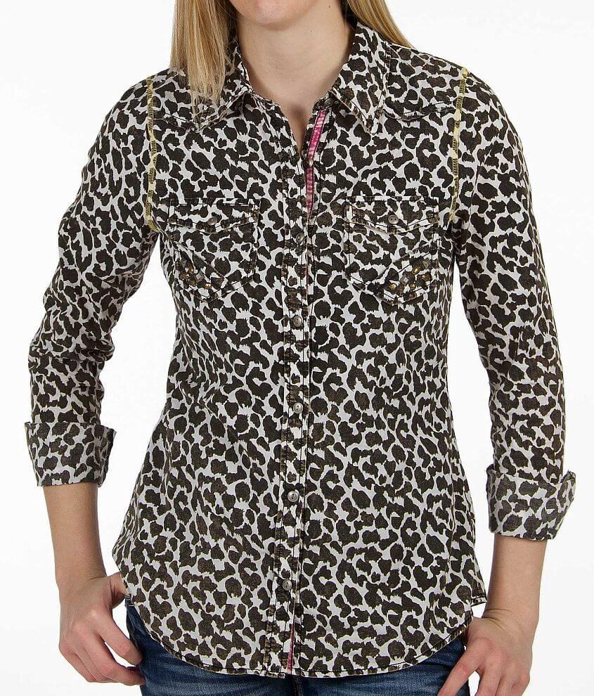 BKE Animal Print Shirt - Women s Shirts Blouses in Animal  7b89873098f1