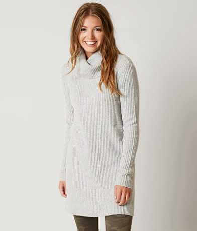 BKE Ribbed Tunic Sweater