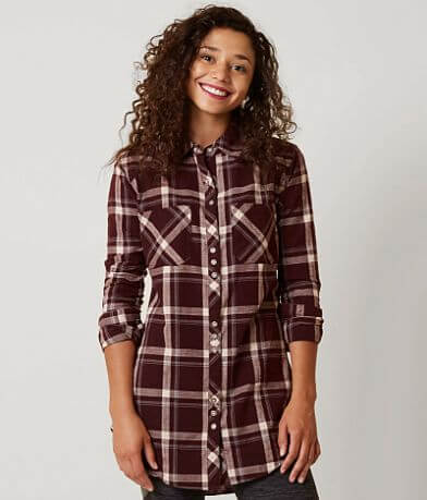 FITZ + EDDI Plaid Shirt