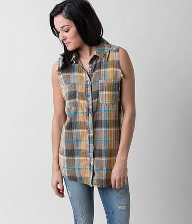 Gilded Intent Plaid Shirt