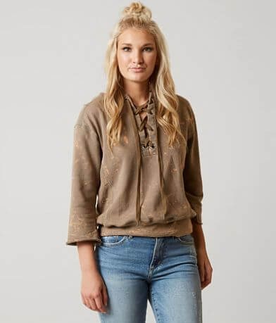 Gilded Intent Bleached Sweatshirt