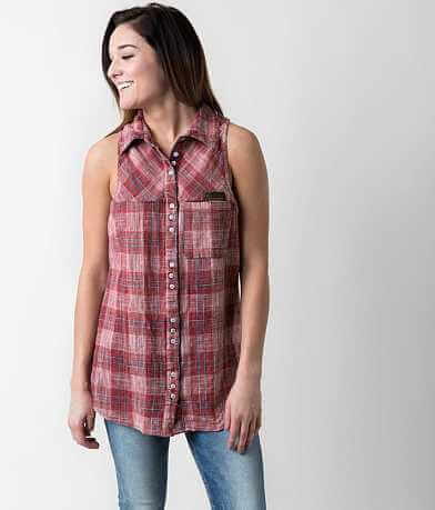 Gilded Intent Plaid Shirt