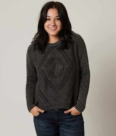 Gilded Intent Washed Sweater