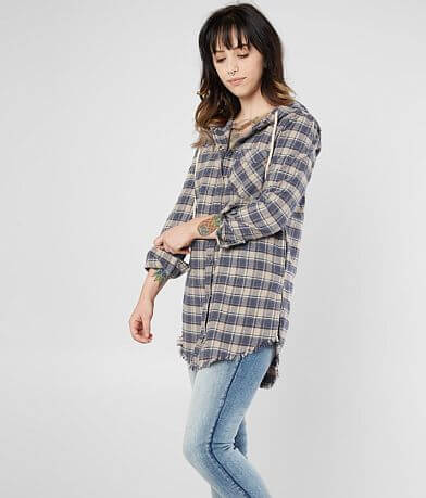 Gilded Intent Flannel Tunic Shirt