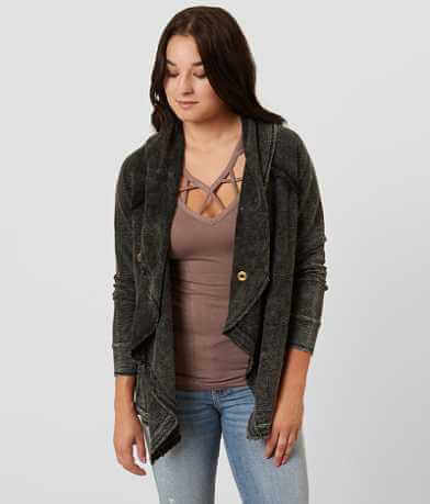 Gilded Intent Raw Edge Cardigan