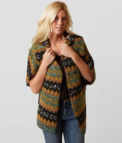 Gimmicks Weaved Cardigan Sweater