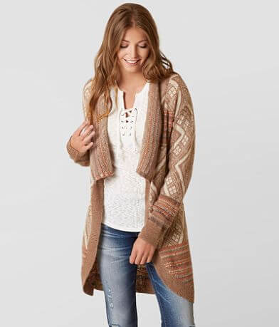 Gimmicks Wool Blend Cardigan Sweater