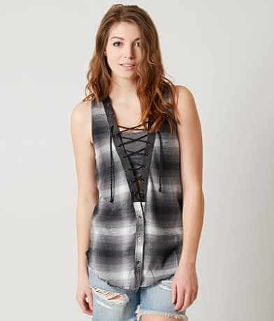 Gimmicks Plaid Top