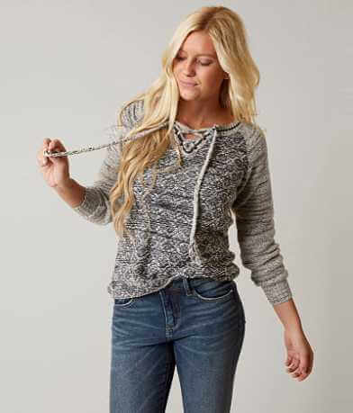 Gimmicks Open Weave Sweater