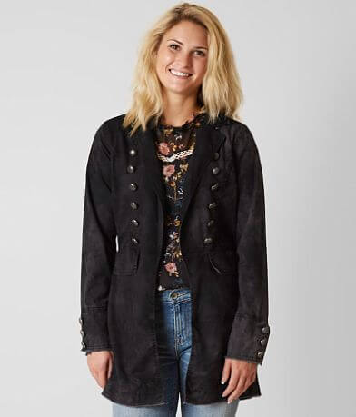 Gimmicks Washed Trench Jacket