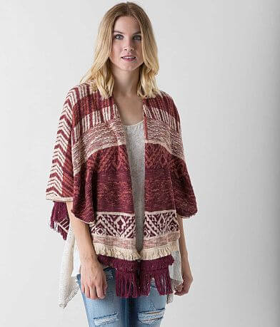 Gimmicks Jacquard Cardigan Sweater