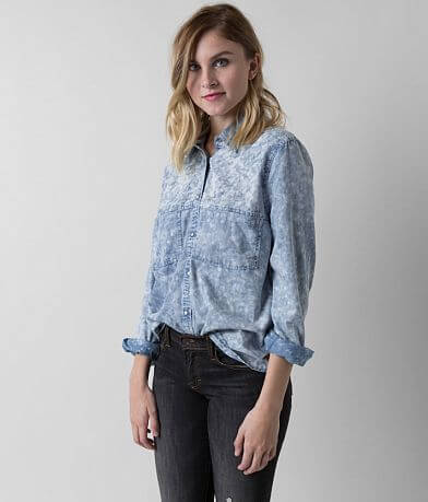 Gimmicks Perforated Chambray Shirt