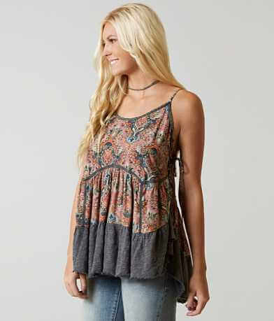 Gimmicks Paisley Tank Top
