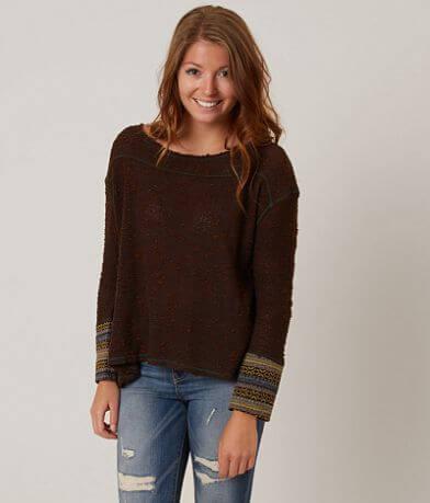 Gimmicks Open Weave Sweater