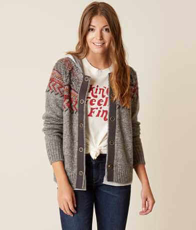 Legacy Collection by BKE Knit Cardigan Sweater