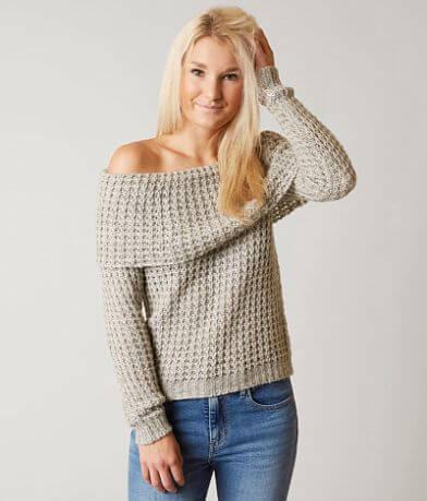 BKE Fold Over Sweater