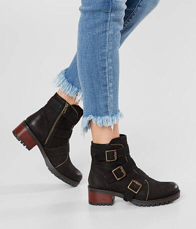 Diba True Roll Around Leather Ankle Boot