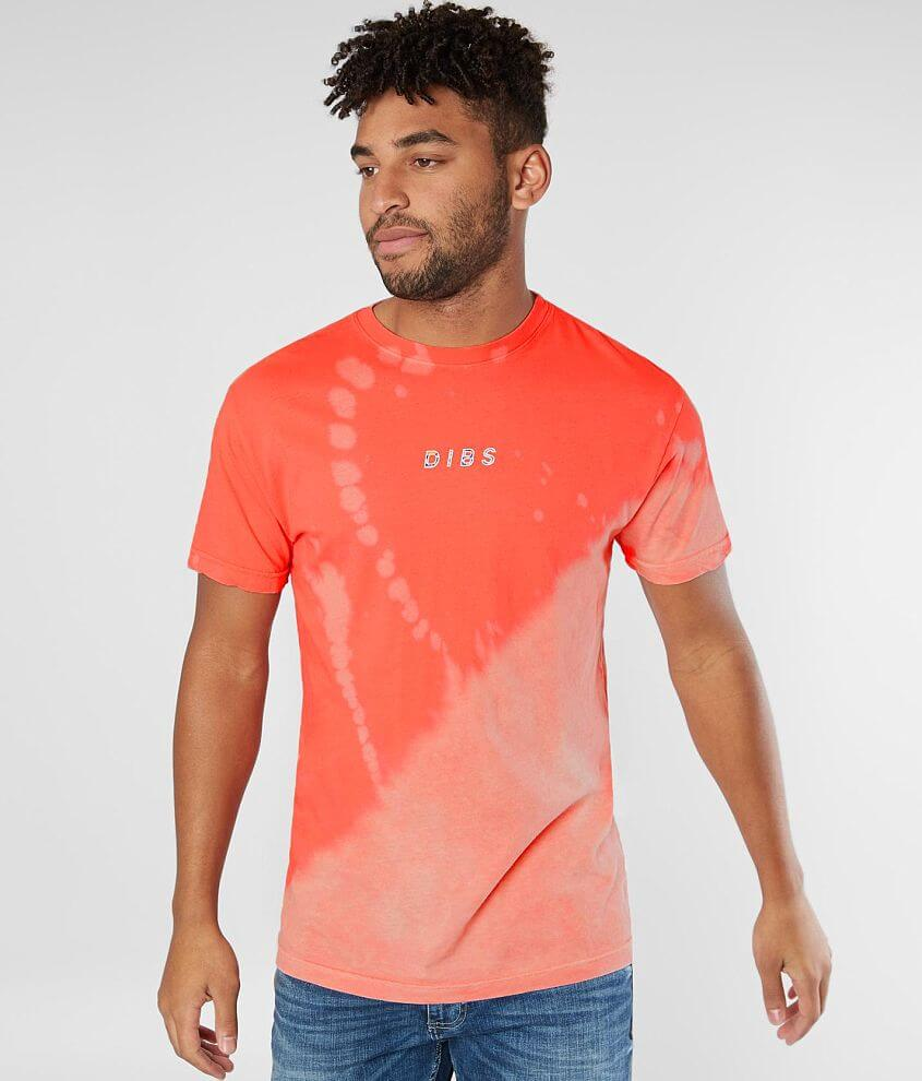 Dibs Striper Floral T-Shirt front view