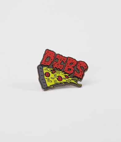 Dibs Pizza Enamel Pin