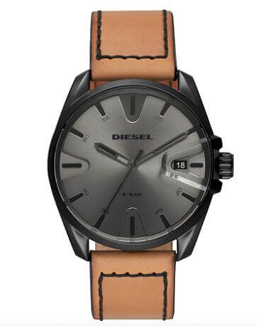 Diesel MS9 Leather Watch