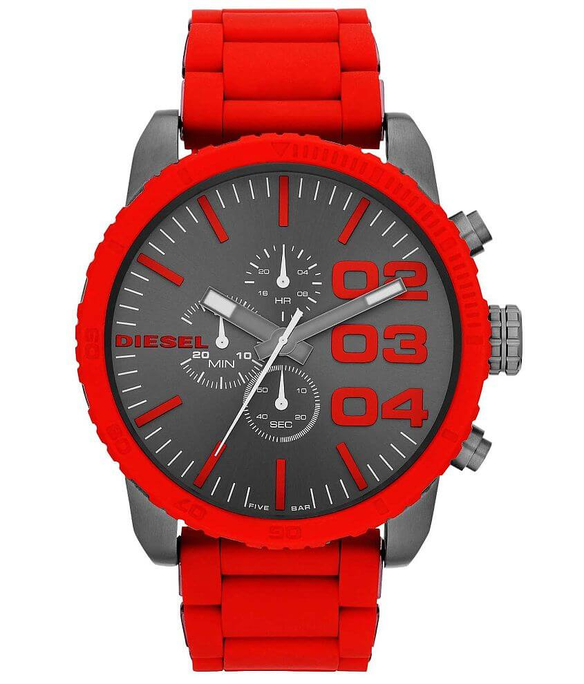 Diesel Double Down 51 Watch front view