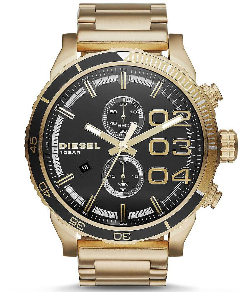 Diesel Double Down Watch front view