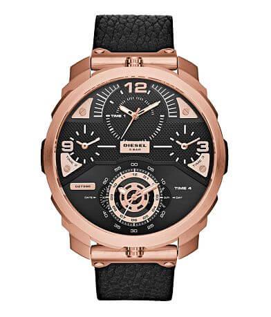 Diesel Machinus Leather Watch