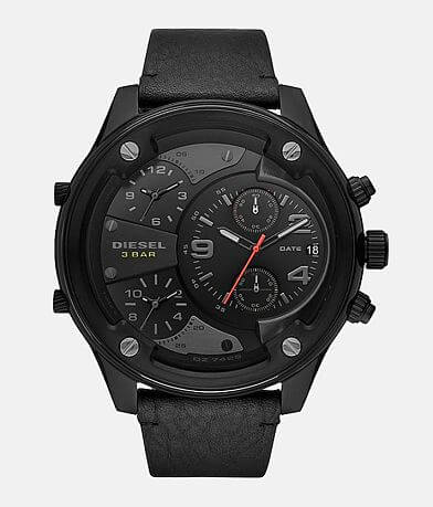 Diesel Boltdown Leather Watch