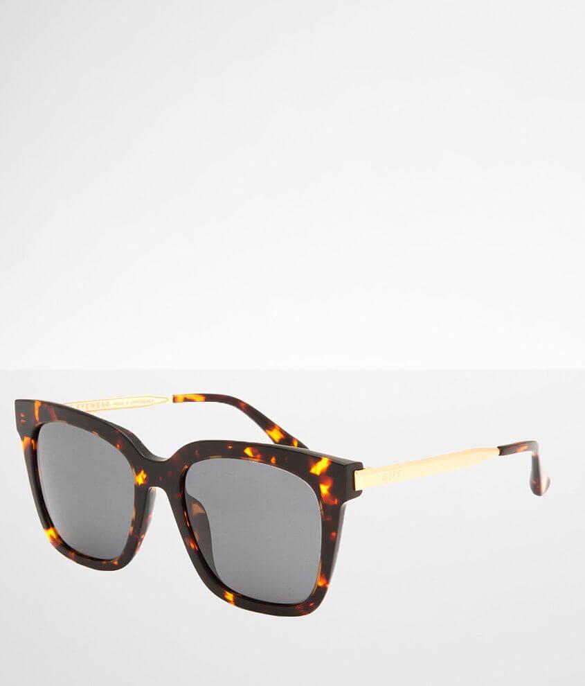 DIFF Eyewear Bella Basic Polarized Sunglasses front view