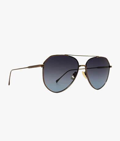 DIFF Eyewear Dash Polarized Aviator Sunglasses
