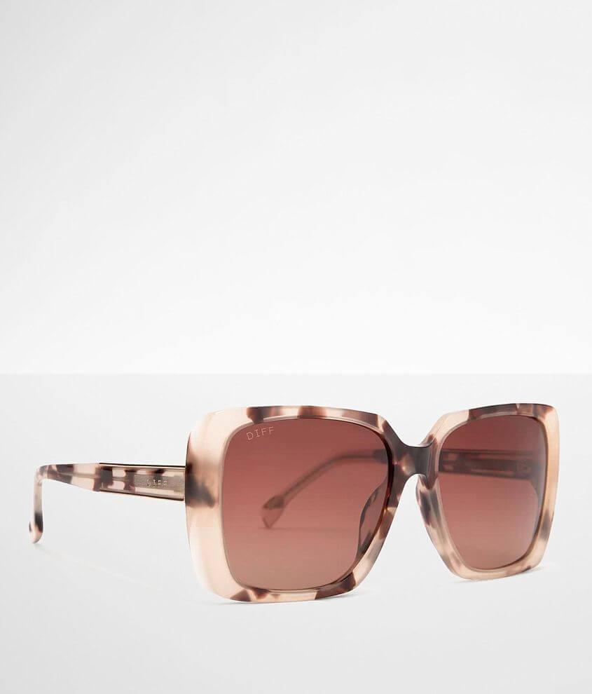 DIFF Eyewear Sophie Tortoise Sunglasses front view