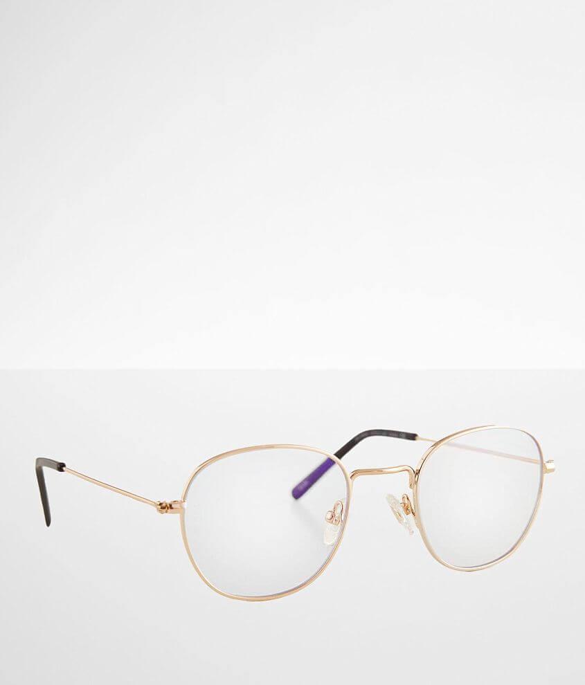 DIFF Eyewear Sage Blue Light Blocking Glasses front view