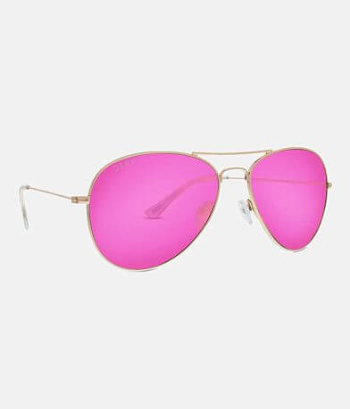 DIFF Eyewear Cruz Aviator Sunglasses