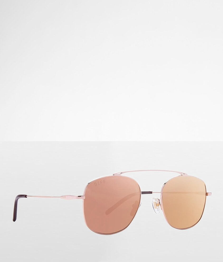 DIFF Eyewear Asher Aviator Sunglasses front view