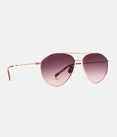 DIFF Eyewear Scout Aviator Sunglasses