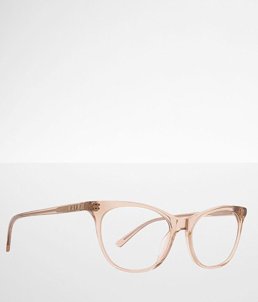DIFF Eyewear Jade Blue Light Blocking Glasses front view