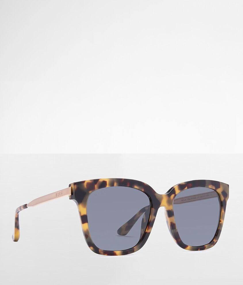 DIFF Eyewear Bella Polarized Sunglasses front view