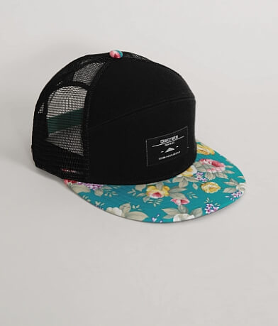 Discrete Clothing Topic Trucker Hat