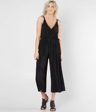 Ten-Sixty Sherman Wide Leg Pleated Jumpsuit