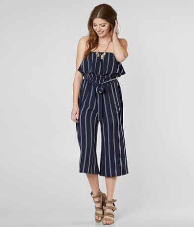 Daytrip Strapless Wide Leg Romper