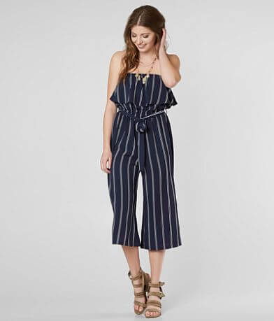 Daytrip Strapless Wide Leg Jumpsuit