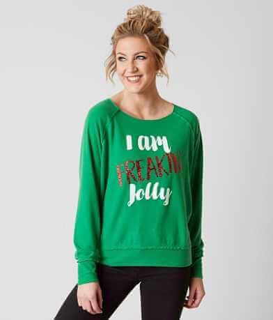twine & stark I Am Jolly Sweatshirt