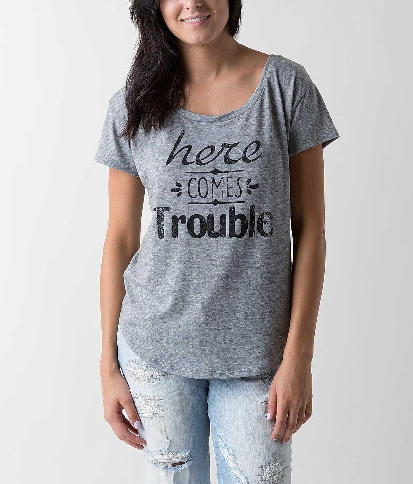 Ten-Sixty Sherman Here Comes Trouble T-Shirt front view