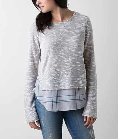 Daytrip Plaid Sweatshirt