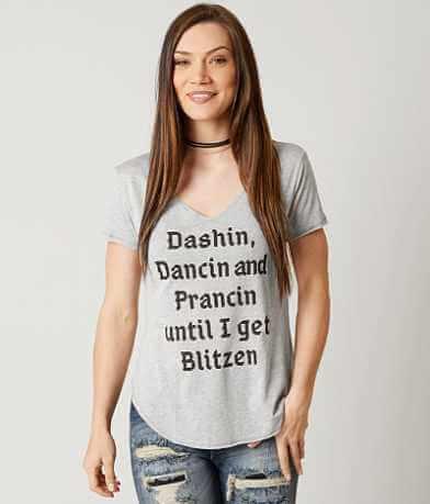 twine & stark Dashin, Dancin, Prancin T-Shirt