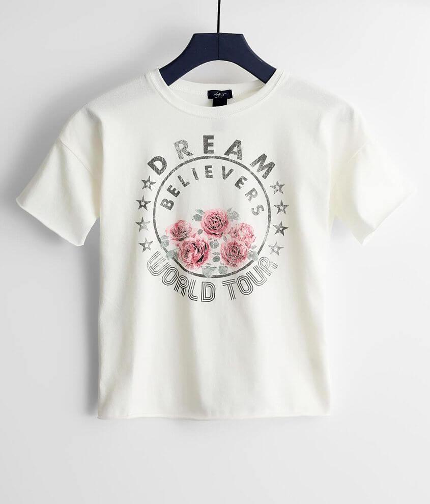 Girls - Daytrip Dream Believers World Tour T-Shirt front view